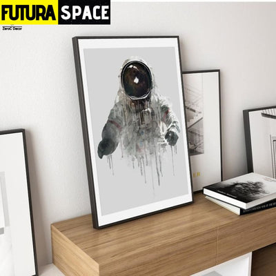 SPACE POSTER - Astronaut Wall Pictures - 1704