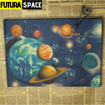 SPACE POSTER - Astronomy & Space Vintage - 1704