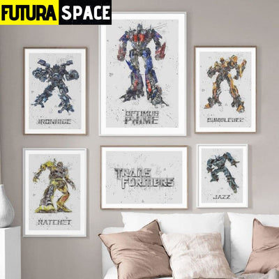 SPACE POSTER - Autobots - 1704