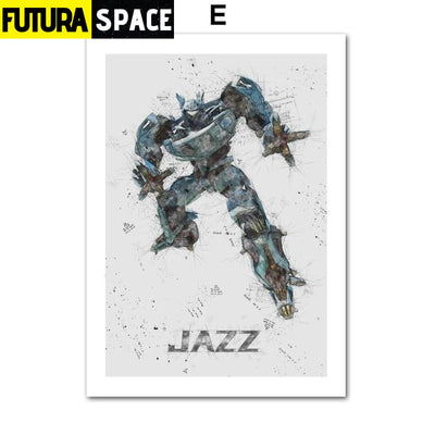 SPACE POSTER - Autobots - 13X18 cm No Framed / E - 1704