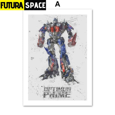 SPACE POSTER - Autobots - 13X18 cm No Framed / A - 1704