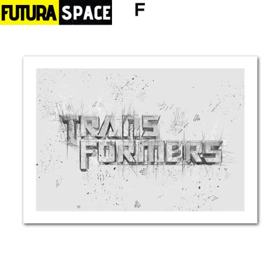SPACE POSTER - Autobots - 13X18 cm No Framed / F - 1704