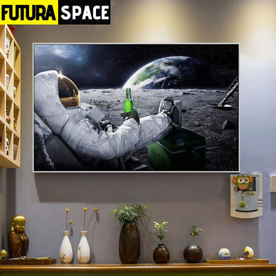 SPACE POSTER - Beers Outer Space - 1704