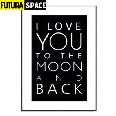 SPACE POSTER - Black and White Earth - 10x15 cm no frame / I