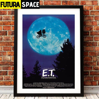 SPACE POSTER - E.T. - 1704
