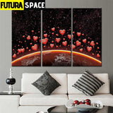SPACE POSTER - Earth - 1704