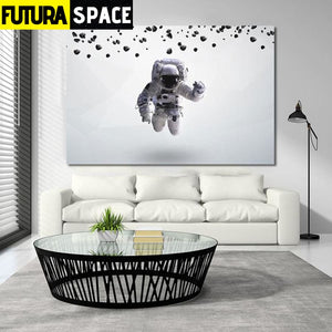 SPACE POSTER - Floating Astronaut - 1704