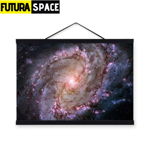 SPACE POSTER - Galaxy Space - 21X30cm No Frame / 04 - 1704