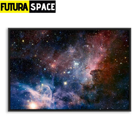 SPACE POSTER - Galaxy Space - 21X30cm No Frame / 03 - 1704