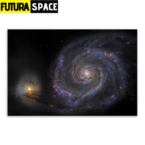 SPACE POSTER - Galaxy Space - 21X30cm No Frame / 06 - 1704