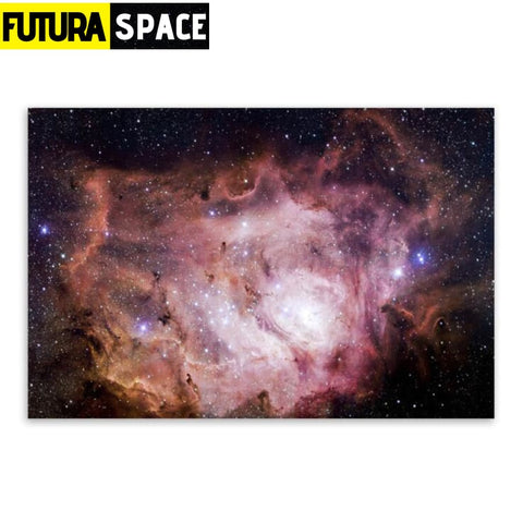 SPACE POSTER - Galaxy Space - 21X30cm No Frame / 02 - 1704