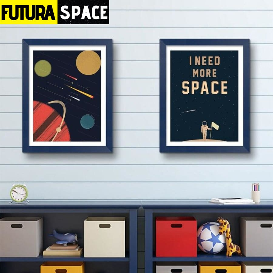 SPACE POSTER - I Need More Space - 1704