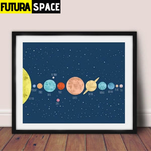 SPACE POSTER - Kids Room - 1704