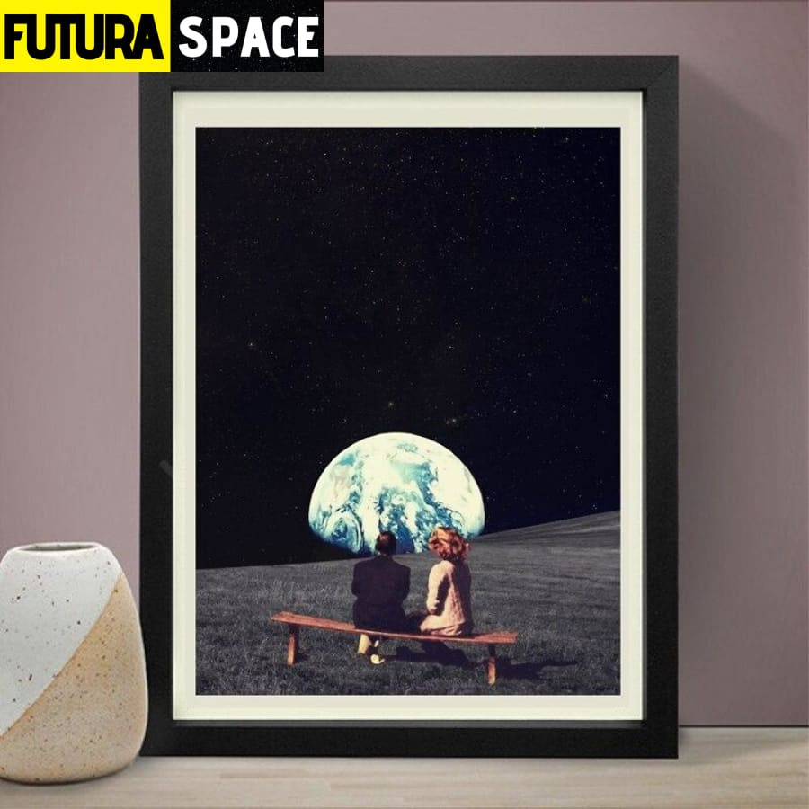 SPACE POSTER - MOON