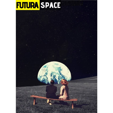 SPACE POSTER - Night Sky - 13X18cm No Frame / no frame 1 -