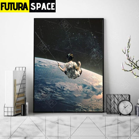 SPACE POSTER - Night Sky - 1704