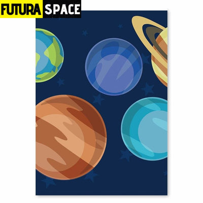 SPACE POSTER - Outer Space universe - 18cm X 13cm Unframe /