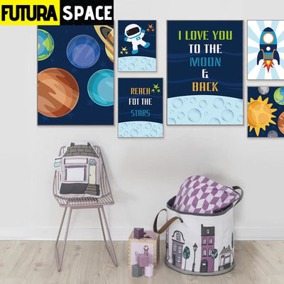 SPACE POSTER - Outer Space universe - 1704