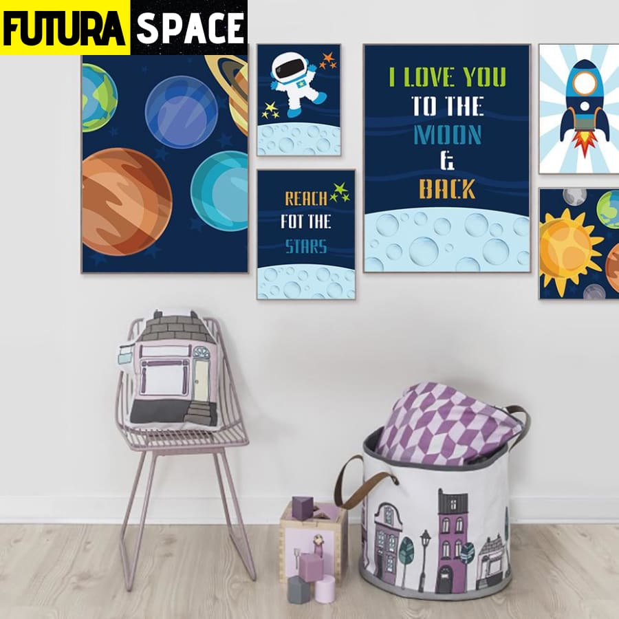 SPACE POSTER - Outer Space universe