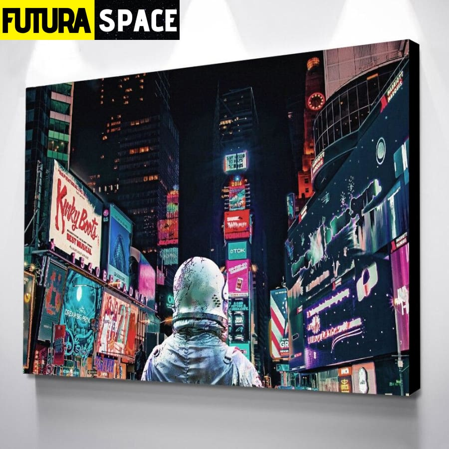 SPACE POSTER - Painting Abstract - 1704