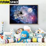 SPACE POSTER - Pictures Astronaut - 1704