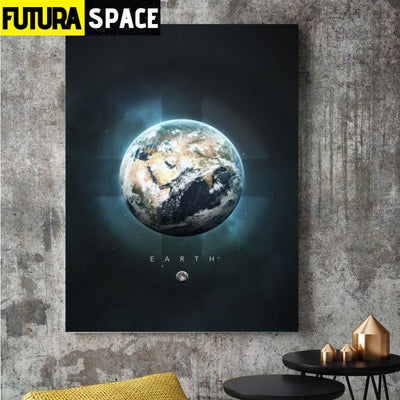 SPACE POSTER - Planet Canvas - 1704