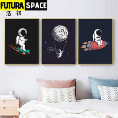 SPACE POSTER - Rocket Wall Art