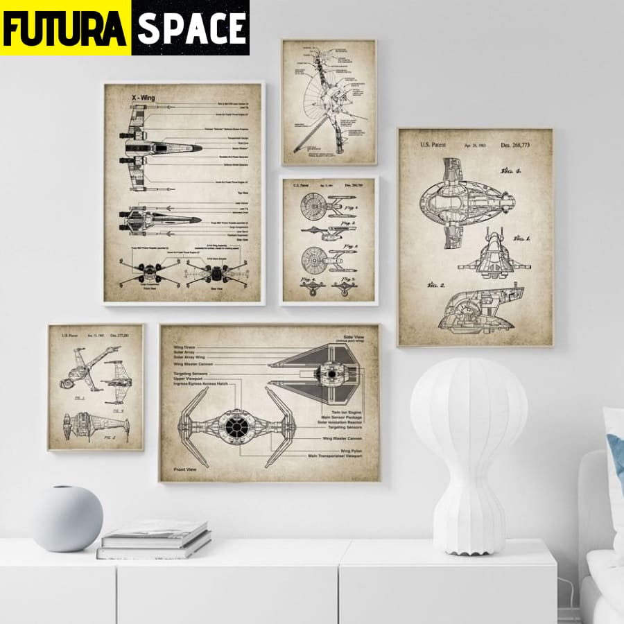 SPACE POSTER - Room Decor - 1704