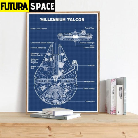 SPACE POSTER - Schematic Diagram - 1704