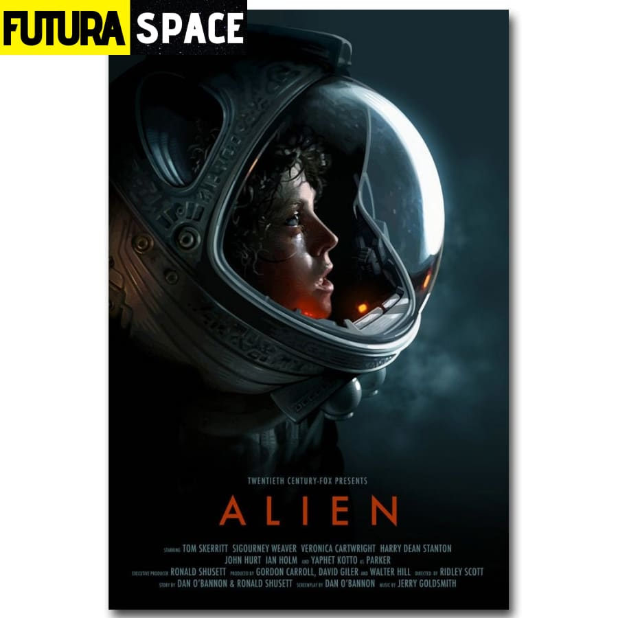 SPACE POSTER - Science Fiction Movie - 1704