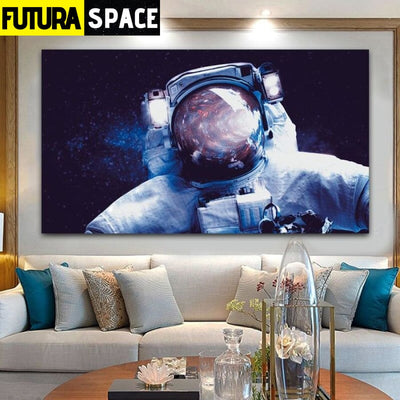 SPACE POSTER - Spaceman Canvas - 20x35cm No Frame / W 1106-9