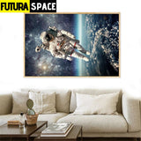 SPACE POSTER - Spaceship Wall - 1704
