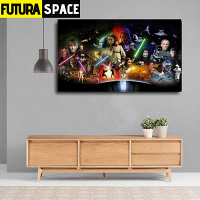 SPACE POSTER - Star Wars - 1704