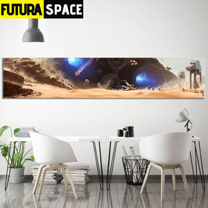 SPACE POSTER - Star Wars (Large Size) - 1704