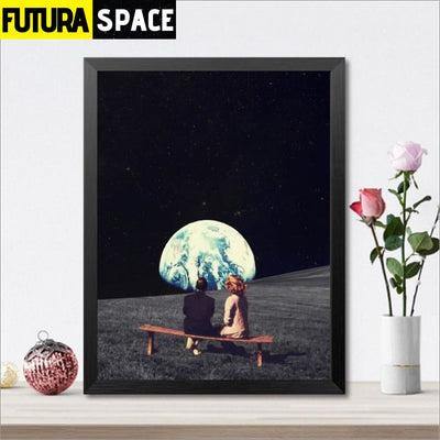 SPACE POSTER - Surrealism Picture - 1704