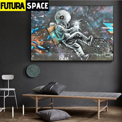 SPACE POSTER - The Astronaut - 20X30cm No Frame / as picture
