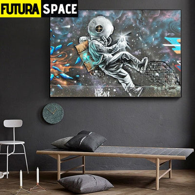 SPACE POSTER - The Astronaut - 1704
