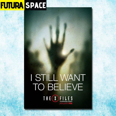 SPACE POSTER - THE X-FILES - 13x20inch silk cloth / click 2