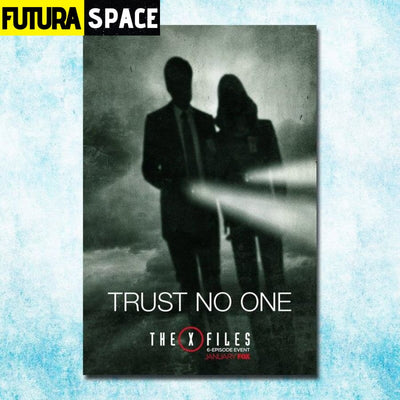 SPACE POSTER - THE X-FILES - 13x20inch silk cloth / click 1