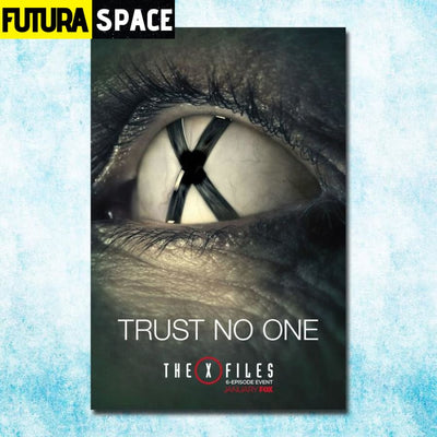 SPACE POSTER - THE X-FILES - 13x20inch silk cloth / click 3