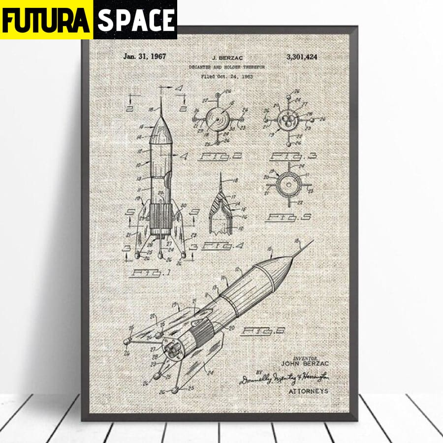 SPACE POSTER - Vintage