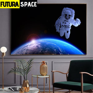 SPACE POSTER - Wall Pictures for Living Room - 1704