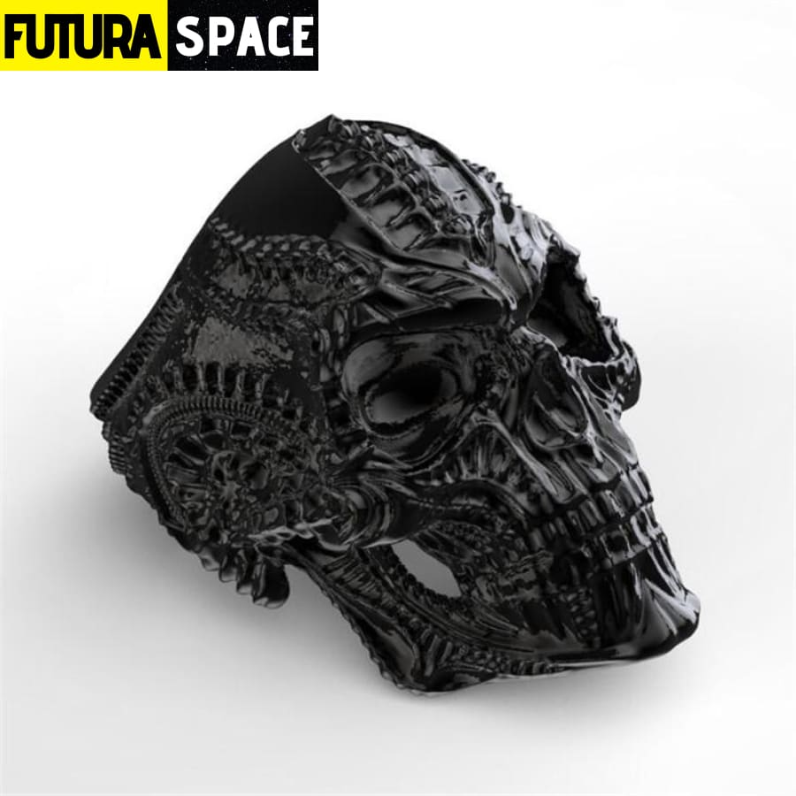 SPACE RING - ALIEN SKULL - 100007323