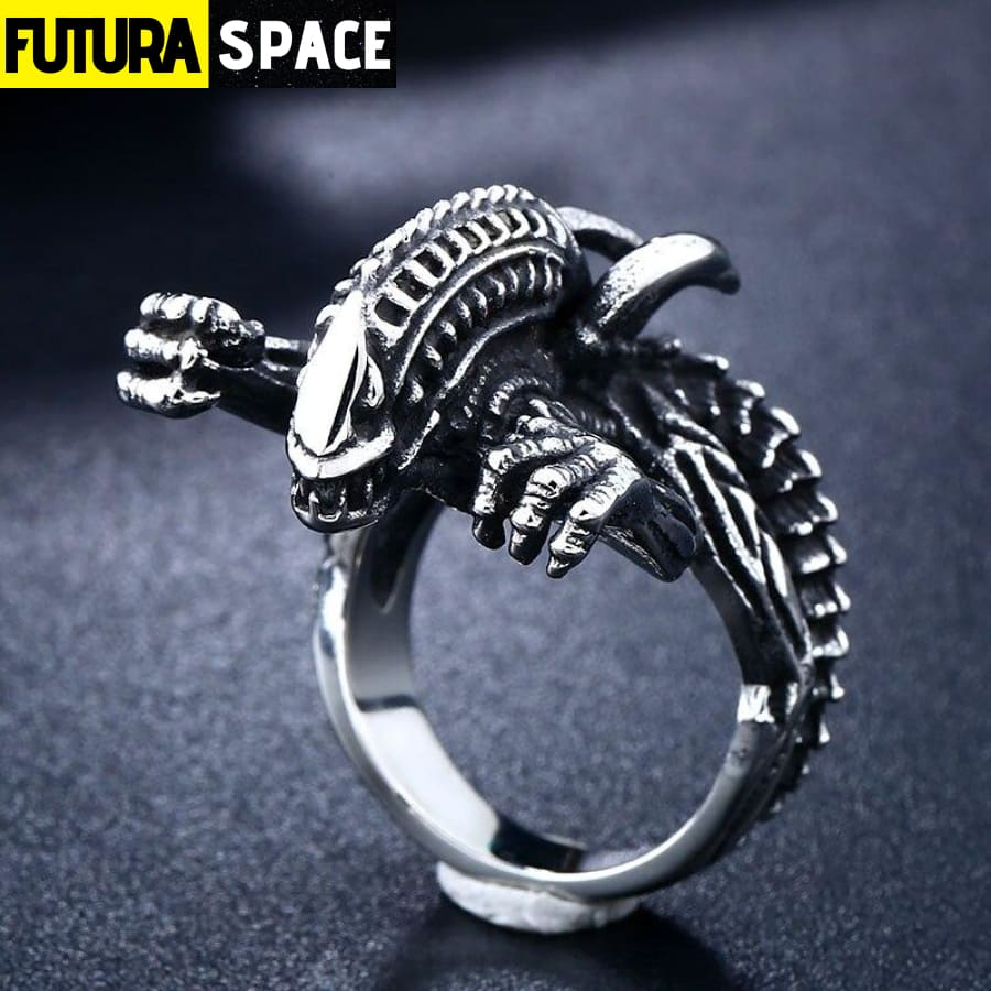 SPACE RING - ALIEN SOLDIER - 100007323