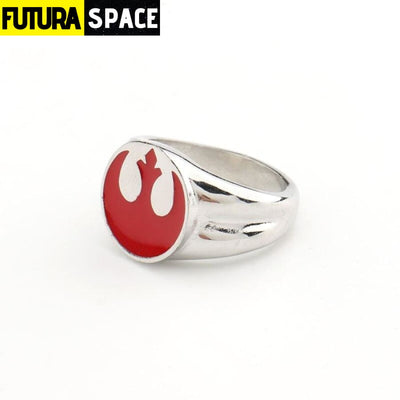 SPACE RING - ALLIANCE - 9 / Red - 100007323