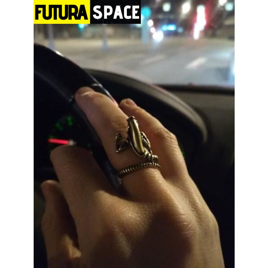SPACE RING - FILM ALIENS - Resizable - 100007323