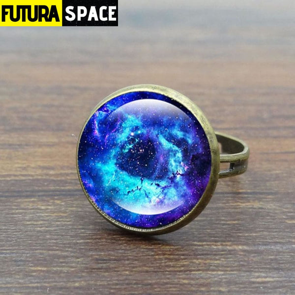 SPACE RING - GALAXY CABOCHON - 100007323