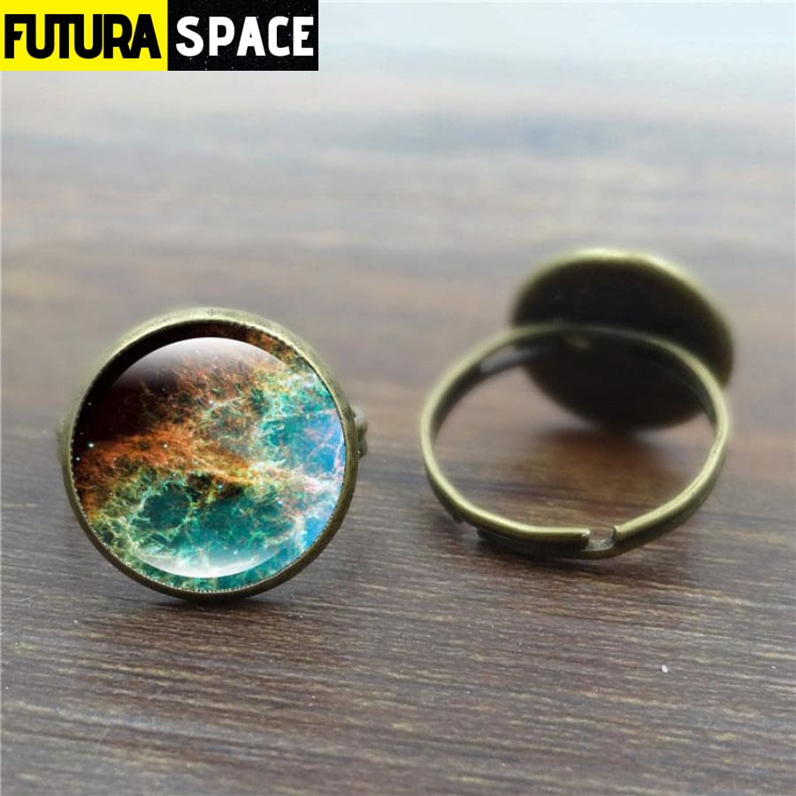 SPACE RING - GALAXY CABOCHON