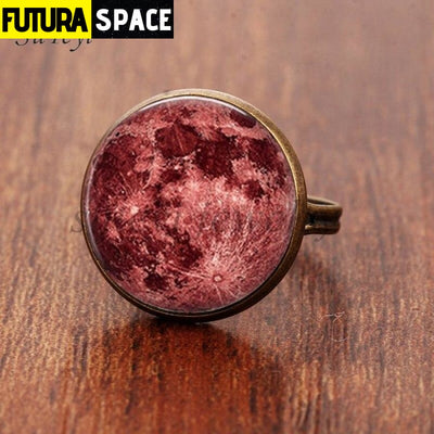 SPACE RING - GALAXY STAR - Resizable / bronze 3 - 100007323
