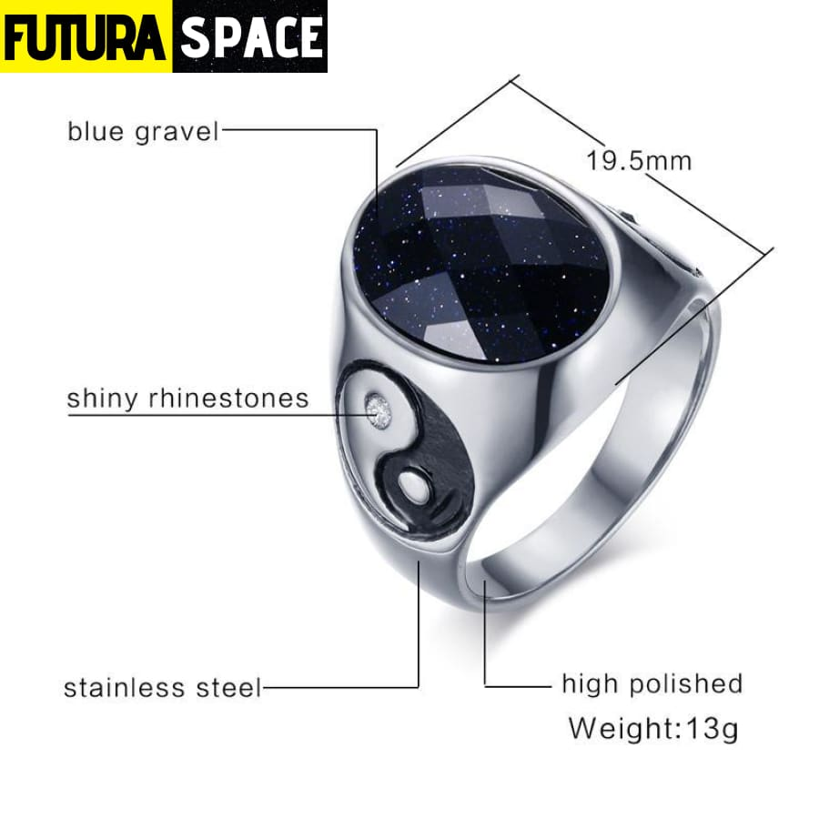 SPACE RING - GALAXY STONE - 100007323